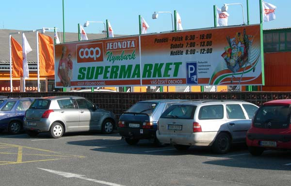 Supermarket Nymburk